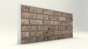 Dış Cephe Tuğla Desenli Strafor Panel Kum Modeli