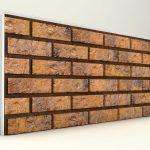 Dış Cephe Tuğla Desenli Strafor Panel Toprak Modeli