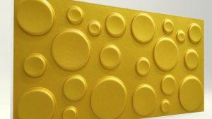 Elips GOLD 3D Strafor Duvar Panelleri
