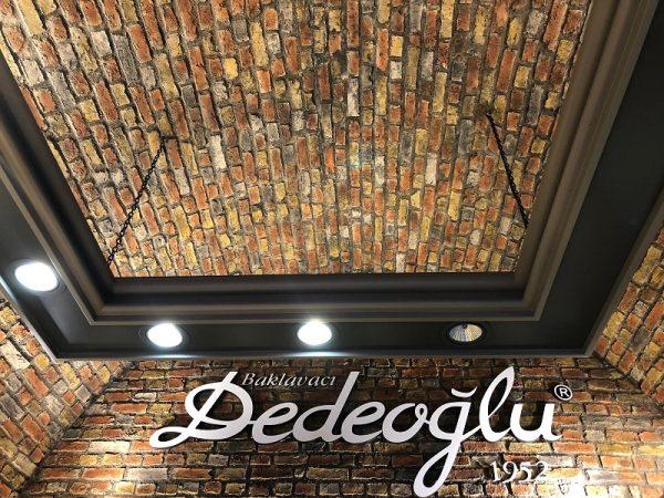 Ladrillo Rotto Fiber Tuğla Duvar Panelleri