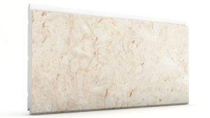Mermer Görünümlü Strafor Dış Cephe Duvar Panelleri Bej Modeli