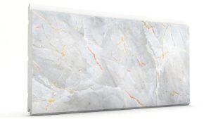 Mermer Görünümlü Strafor Dış Cephe Duvar Panelleri Beyaz Modeli
