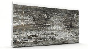 Mermer Görünümlü Strafor Dış Cephe Duvar Panelleri Kömür Modeli