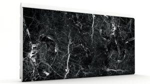 Mermer Görünümlü Strafor Dış Cephe Duvar Panelleri Siyah Modeli
