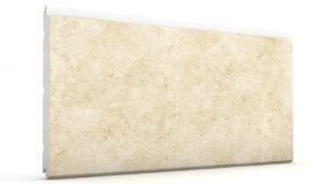 Mermer Görünümlü Strafor Dış Cephe Duvar Panelleri White Modeli