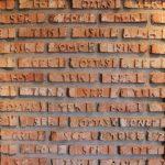 Orjinal Yazılı Çubuk Tuğla Duvar Kaplama