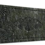 Osmanlı Dolunay Oymalı Strafor Duvar Paneli Antrasit Modeli