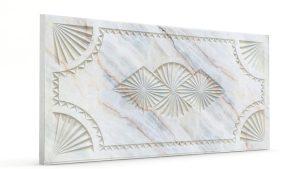 Osmanlı Dolunay Oymalı Strafor Duvar Paneli Bej Modeli