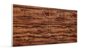 Osmanlı Yıldız Desen Oymalı Strafor Duvar Paneli Ağaç Kabuğu Modeli