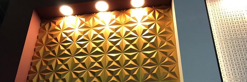 Piramit Desenli Paneller