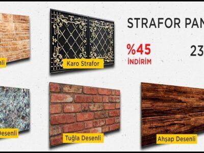 Dekoratif Strafor Duvar Panelleri
