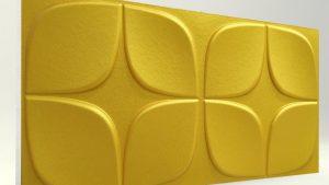 Papatya Gold 3D Strafor Duvar Panelleri m2 Fiyatları