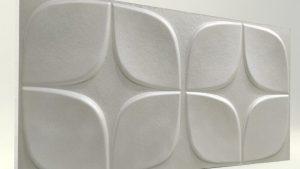 Papatya İnci Beyaz 3D Strafor Duvar Panelleri m2 Fiyatları