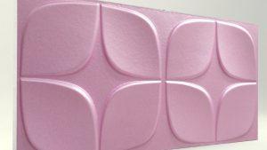 Papatya Lila 3D Strafor Duvar Panelleri m2 Fiyatları