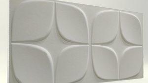 Papatya Mat Boyasız 3D Strafor Duvar Panelleri m2 Fiyatları