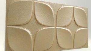 Papatya Sütlü Kahve 3D Strafor Duvar Panelleri m2 Fiyatları