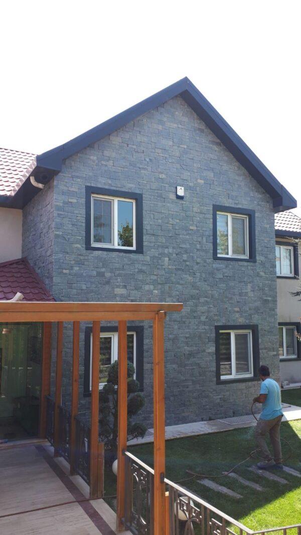 exterior slate stone cladding