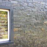 exterior slate stone panel cladding