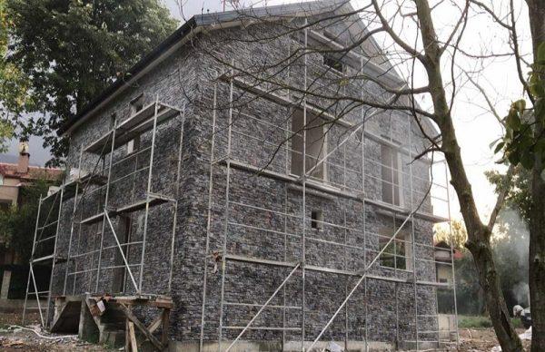Villa Dış Cephe Taş Duvar Kaplama işçilik m2 Fiyatları